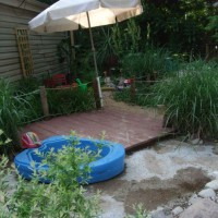 Photo Thumbnail #11: Little deck for the wading pool.  We've dubbed...