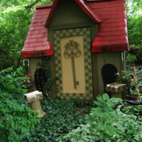 Photo Thumbnail #6: The White Rabbit's house in my Alice in...