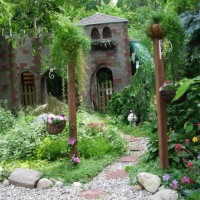 Photo Thumbnail #1: Our castle, the focal point of the backyard. It...