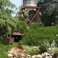 Photo Thumbnail #5: Existing water tower over pond