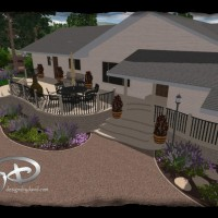 Photo Thumbnail #5: front drive way design, 3d design, house porch...
