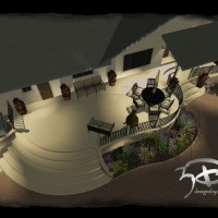Photo Thumbnail #6: front porch design, 3d design, patio design,...