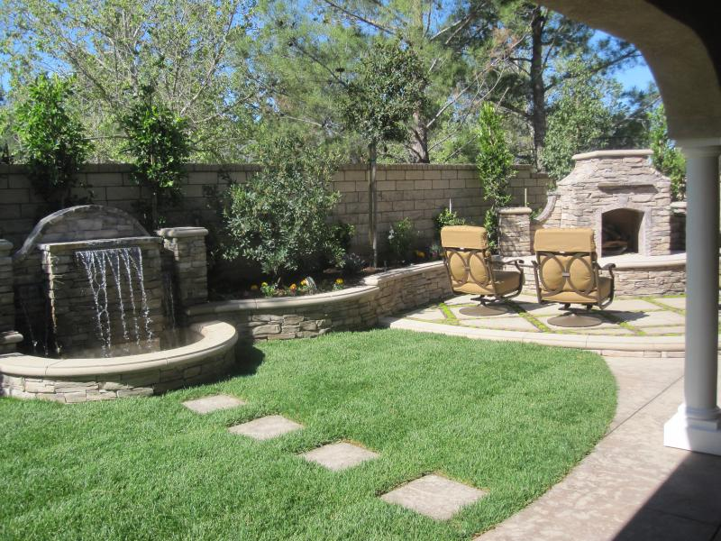 Life short small backyard landscaping plans here for Small backyard ideas