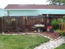 fence garden