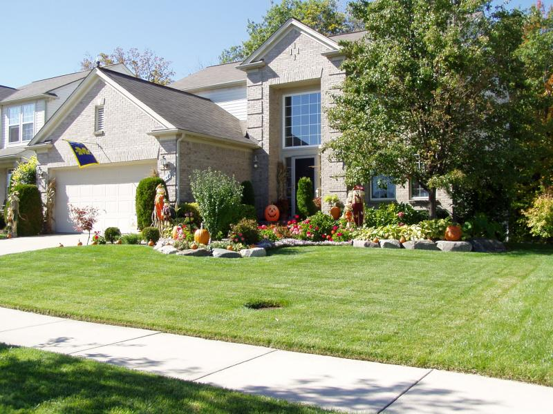 Landscaping Ideas For Flat Front Yard : Front yard flat