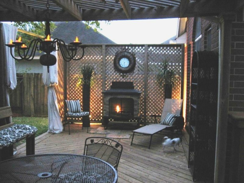 Find patio ideas on a budget for Deck decorating ideas on a budget