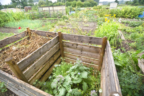 Wood Compost Storage