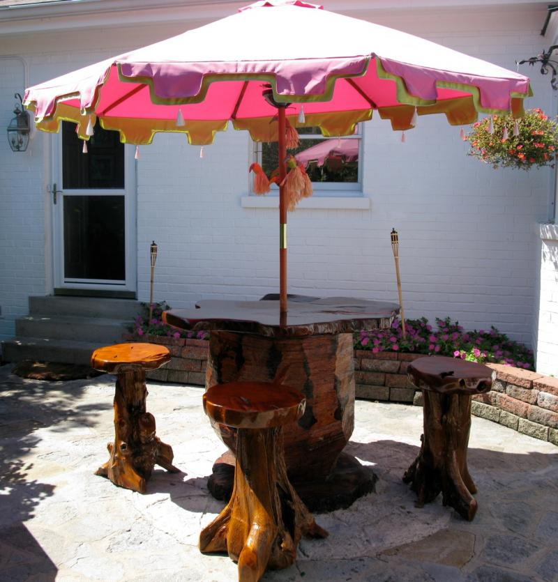 Patio Table Stump