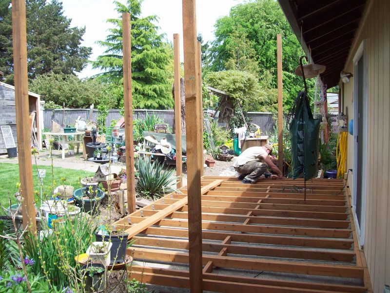 Yard Landscaping Pictures & Ideas: Deck & Awning Build
