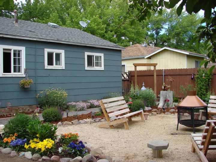 landscaping ideas backyard on a budget