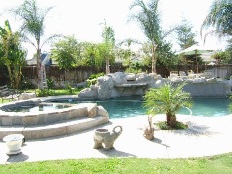 Yard Landscaping Pictures & Ideas: Tropical Back Yard