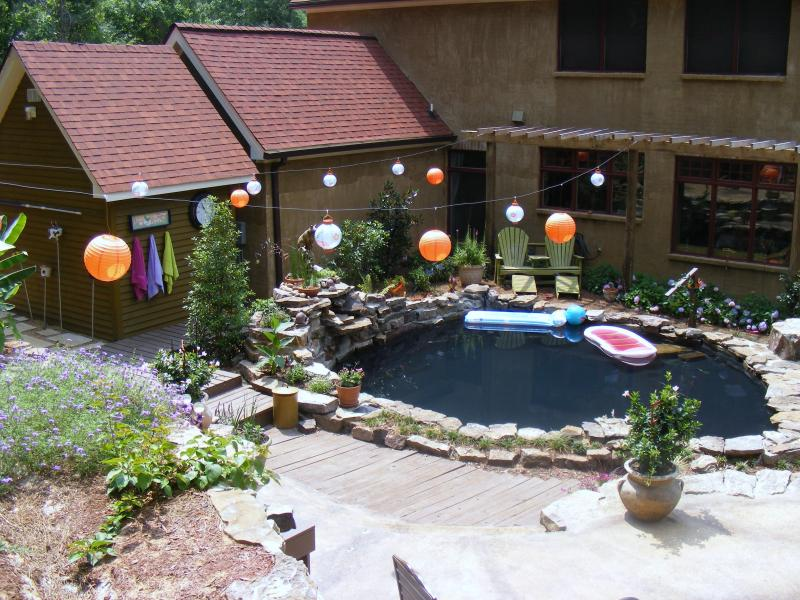 Pond perfection yard ideas blog for Homemade pond ideas