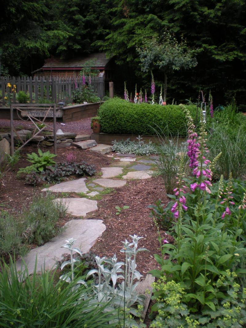 Large Stone Walkway