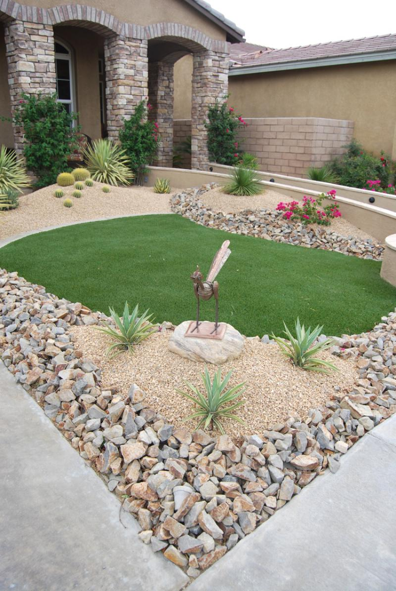 Landscaping Your Front Yard With Stone
