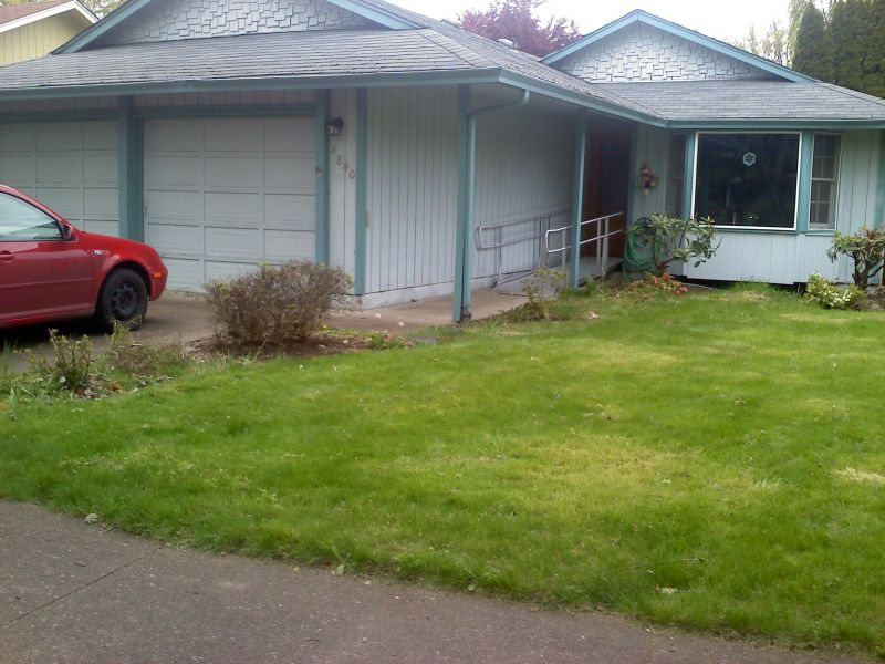 Front Yard Wheelchair Ramp