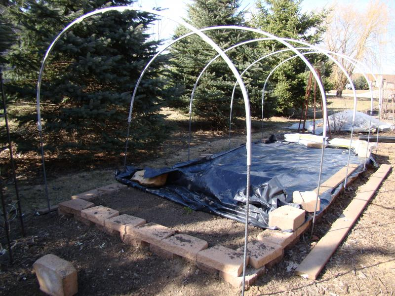 Hoophouse Construction