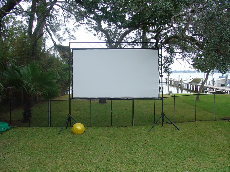 Yard Landscaping Pictures & Ideas: Outdoor Theater