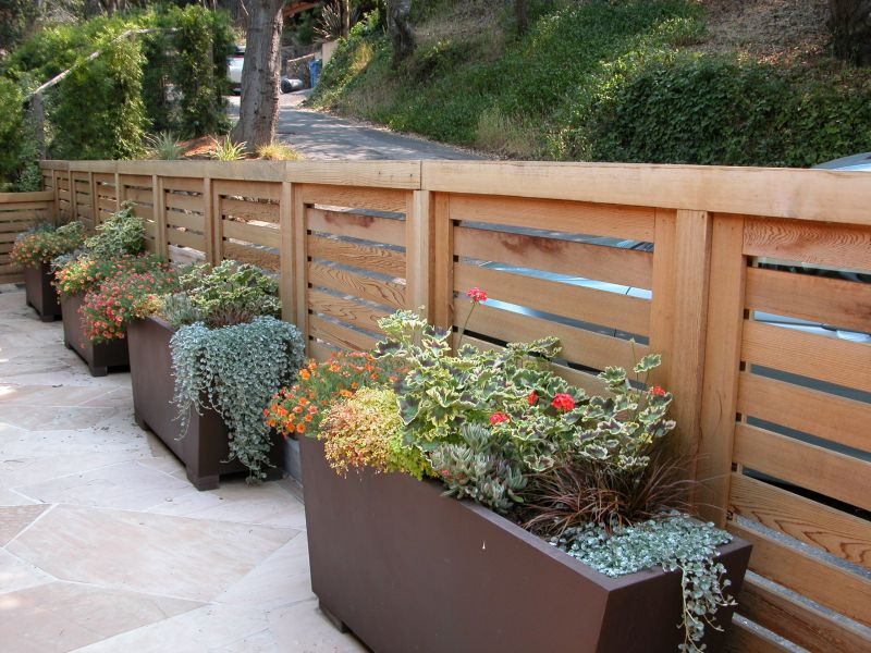 Patio Garden Planter Ideas