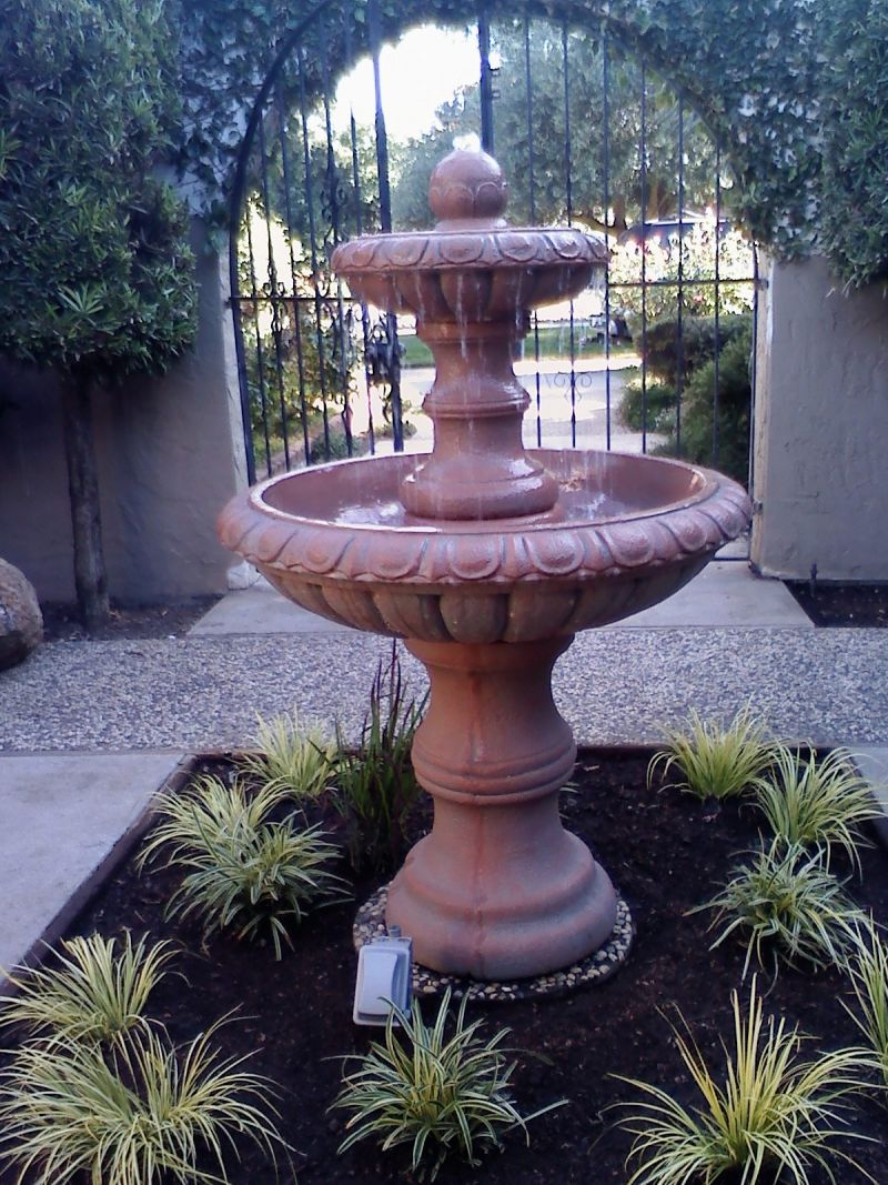 Just add water yard ideas blog Water fountain landscaping ideas