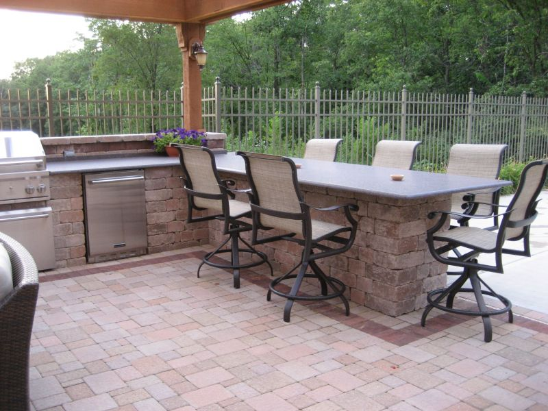 Outdoor Kitchen's are becoming the focal point of the yard
