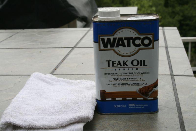 Watco Teak Oil
