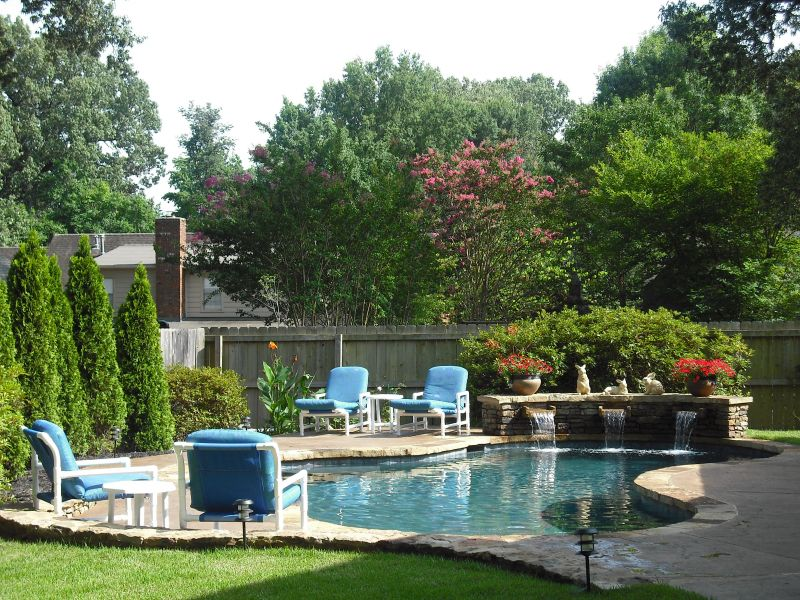 Pool Landscaping Landscaping Pictures & Ideas: FROM ALL SHADE TO ALL SUN