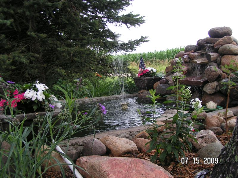 Rainwater Recycling Pond