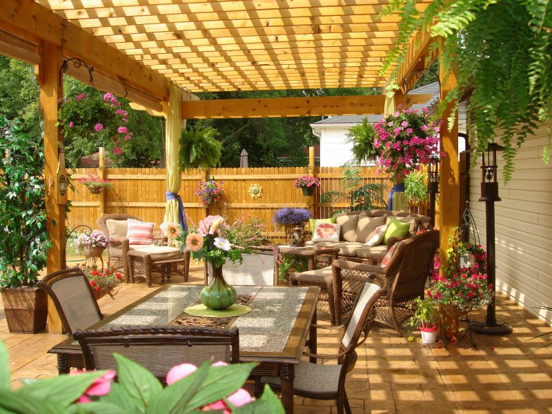 Patio Landscaping Pictures & Ideas: Garden of Eden