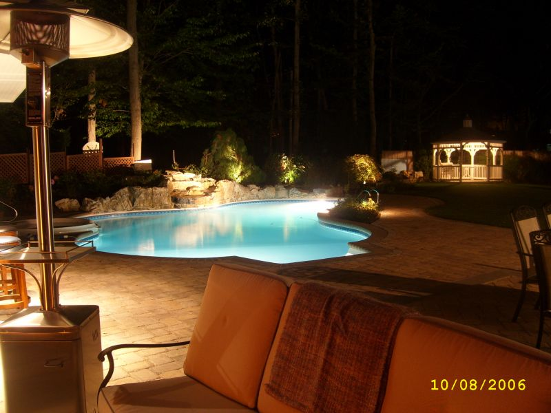 Landscape Lighting Contrasts