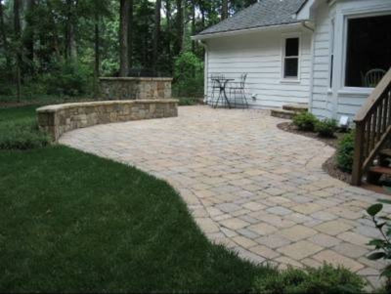 Bare Patio