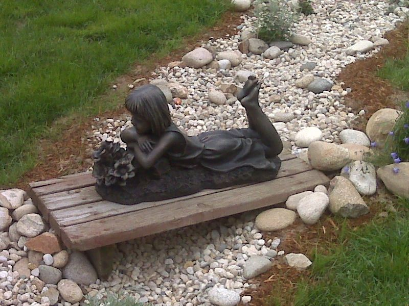 Garden Art in Your Walkway