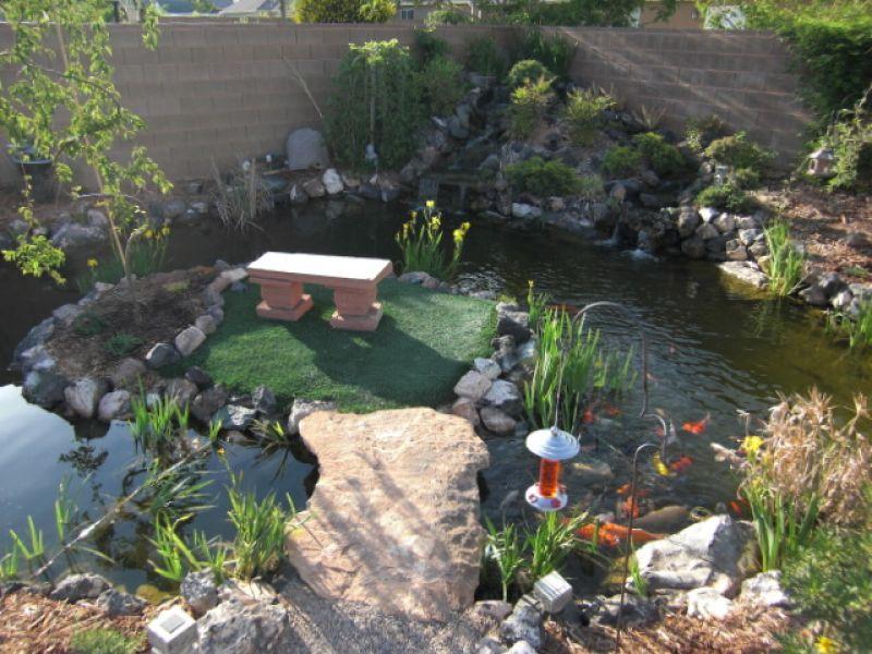 Koi Pond Zen Garden