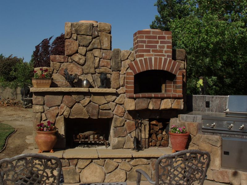 backyard pizza oven